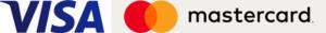 logo visa i mastercard